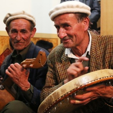 Wakhi language Mushaira and music night held in Gulmit, Gojal