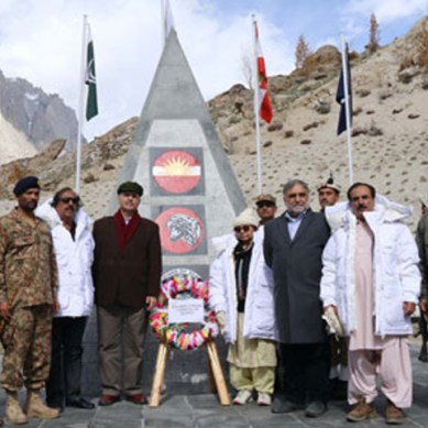 Senator Mushahid's peace plan for Siachen