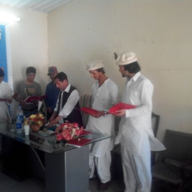 Oath Taking Ceremony of Chitral Students association held