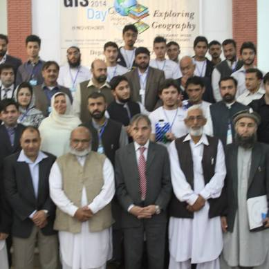 GIS day celebrated at University of Peshawar, two students from GB get awards for creating models