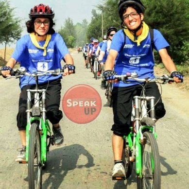 "Female cyclists from Gilgit-Baltistan take part in ""Bangladesh Discovery Ride"""