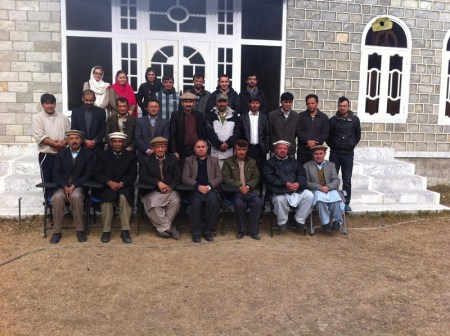 Group photo at the end of the second moot held on 30th November in Gilgit