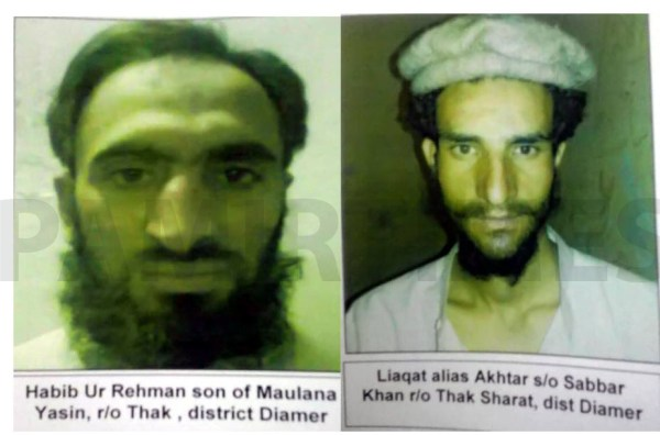 GB Police has released photographs of the two prisoners who have fled this morning