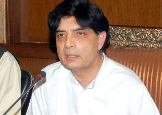 Nisar for training of Gilgit-Baltistan Scouts on modern lines