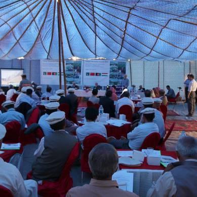 Symposium on 'sustainable development of Wakhi people' starts in Passu, Gojal