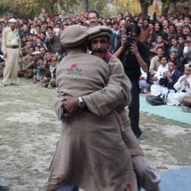 Themshing Festival celebrated in Hundur Valley, Yasin