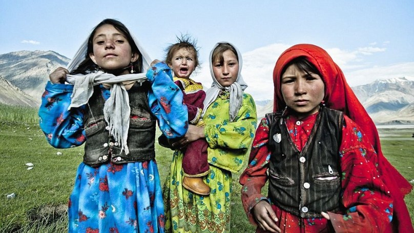 Untouched Afghanistan: Striking photos reveal the lives of the nomadic tribes where the nearest neighbour lives weeks away