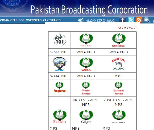 Now you can listen to Radio Pakistan's programmes from Gilgit, Skardu stations online