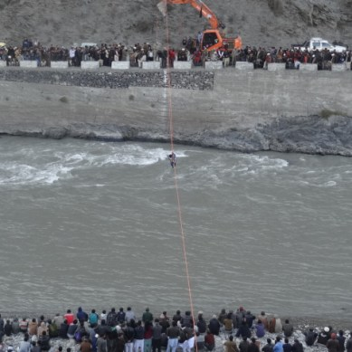 7 missing, three dead, as passenger van falls in the Chitral river