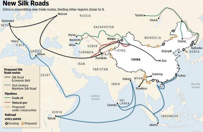 Can Beijing Sell Silk Road as a Marshall Plan Against Terror?