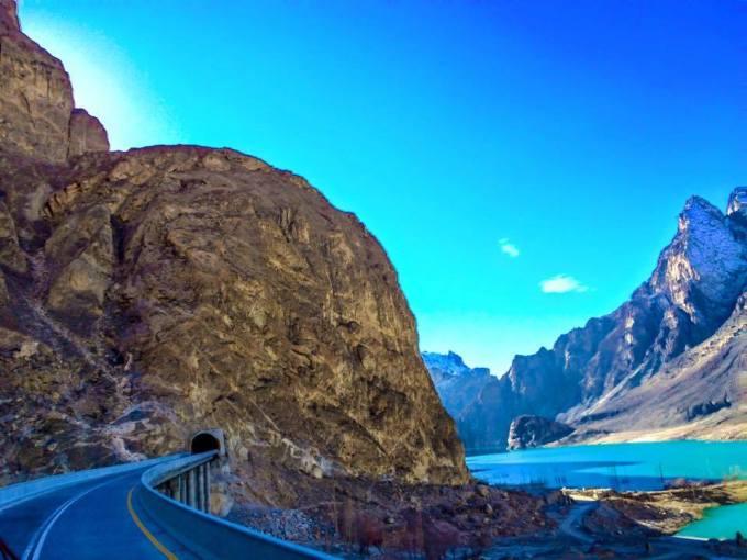 Southern opening of the Pak-China Friendship Tunnel. Photo: Kamran Baig
