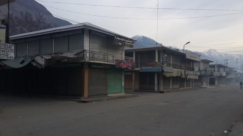 Anti-Tax Movement's strike brings life to a halt in Gilgit-Baltistan