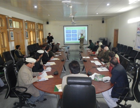 Inception and Planning Workshop for Water & Energy Security (WES) Projects held at DCO Office Chitral