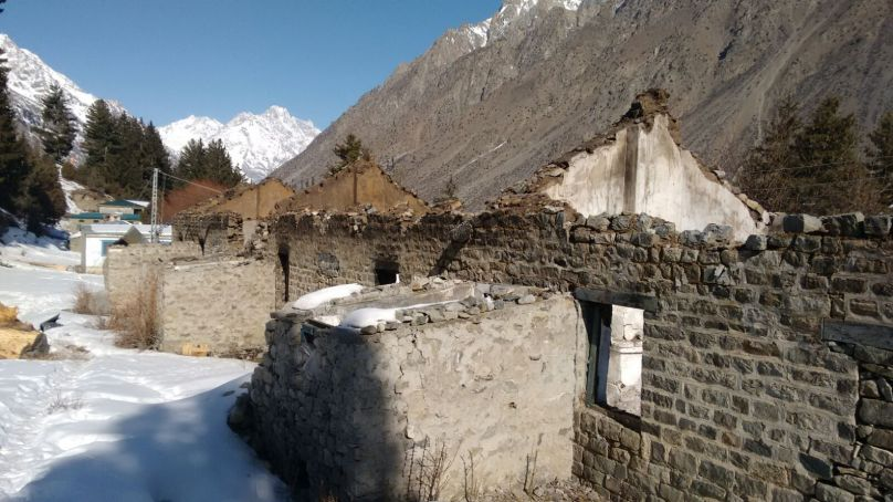 Naltar: School destroyed due to chopper crash  last year needs attention