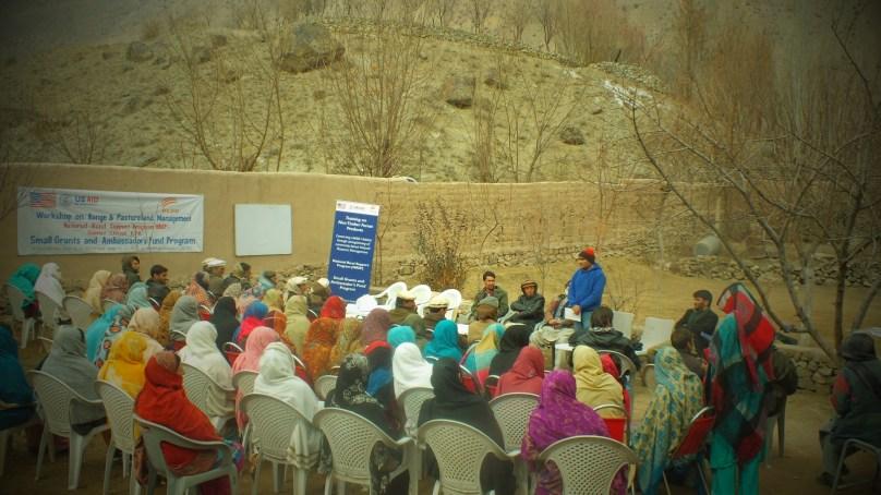 Workshop on Pasture and Rangeland Management held in Parwak, Chitral
