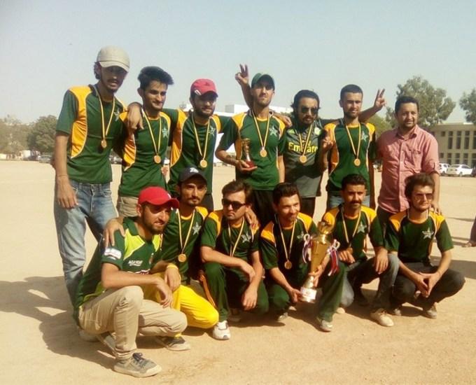 Runner-up team celebrates
