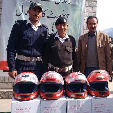 Only 10 percent bikers in Gilgit-Baltistan use helmets, reveals IG Police