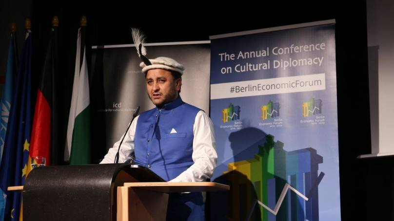 CM Hafeez speaks about tourism and cultural heritage at ICD Berlin