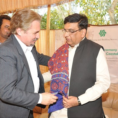 15 Projects to Mitigate Risk of Flooding in the Coastal Villages of Sindh Completed