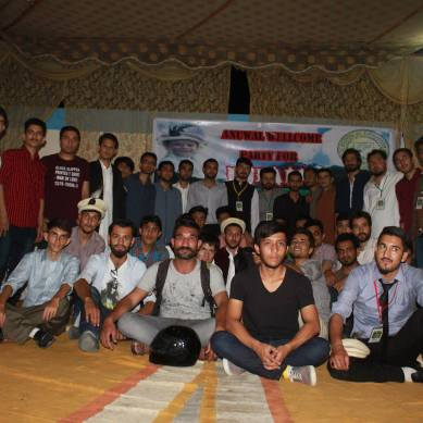 SSUET seniors welcome fresh students from Gilgit-Baltistan
