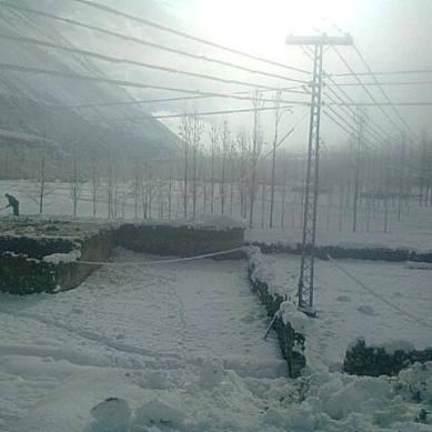 Heavy snowfall in Chipursan Gojal