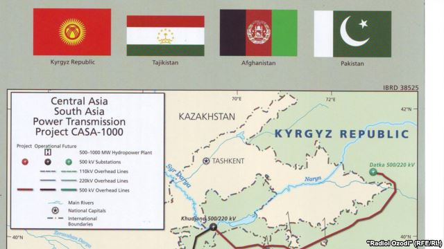 CASA 1000 power project launched in Dushanbe, Tajikistan