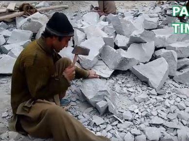 Shrinking opportunities for Stone Masons in Gilgit-Baltistan
