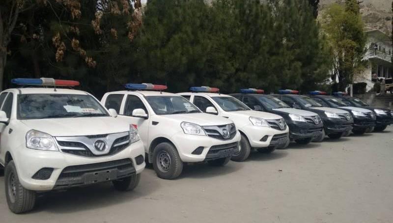 PM inagurates GB CPEC Patrolling Police Headquarters in Gilgit