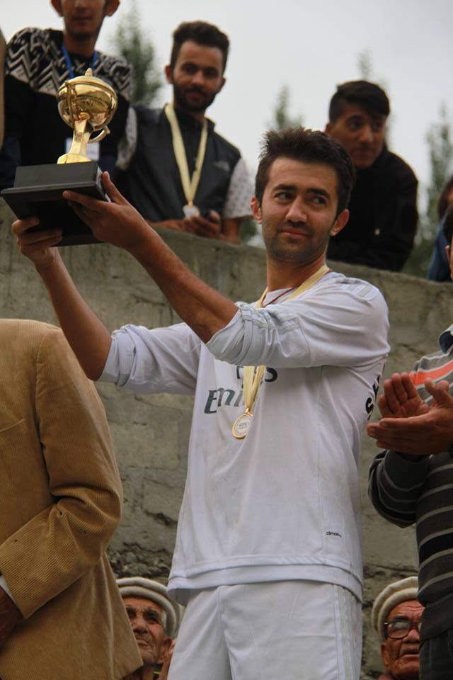 Sarfaraz Ahmad, Man of the Series, Photo: Rehmat Jabbar