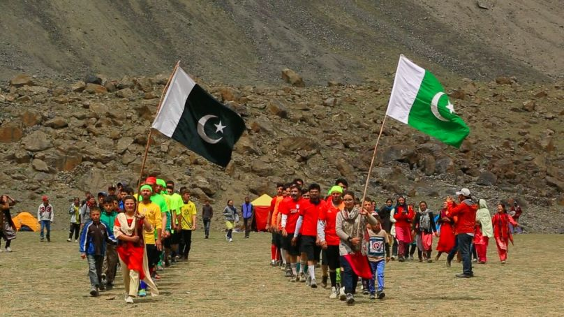 Hunza: PYO organizes sports events at the 'world's highest sports ground'  in Zarthgurben, Shimshal