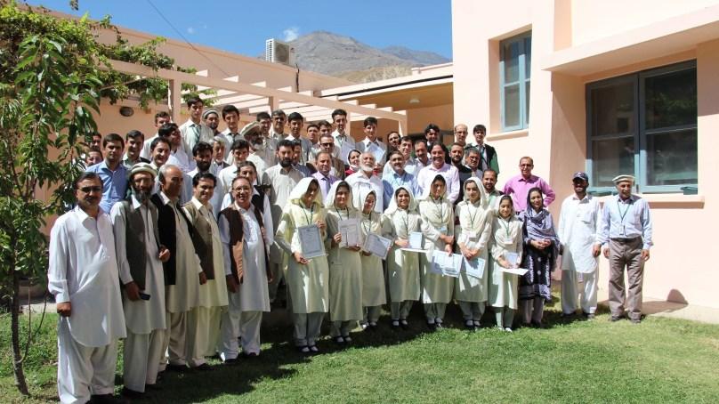 AKUEB 'High Achievers' awarded at Aga Khan Girls Higher Secondary School, Koragh
