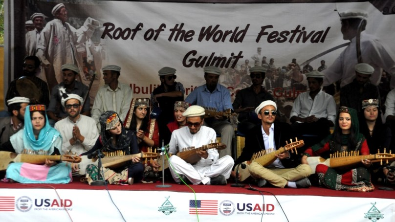 """""""Roof of the World Festival"""" held in Gulmit, Gojal"""