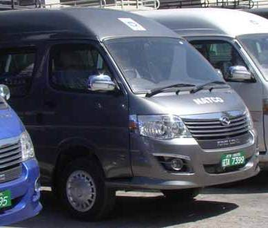 NATCO launching urban transport service for working women, special people in Gilgit City