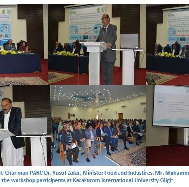 Stakeholder Consultation Workshop on Climate Adaptations