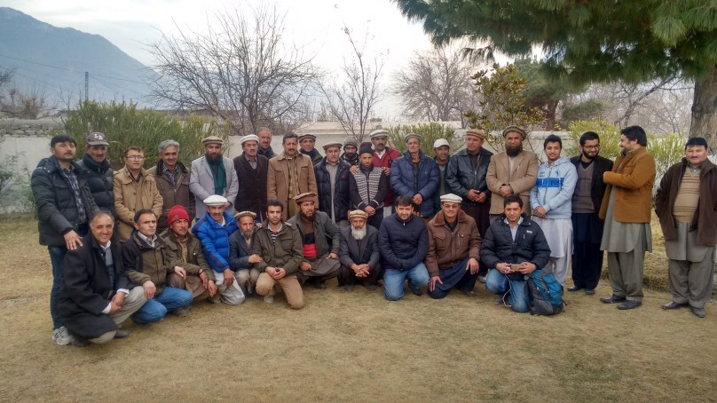 Ghulkin famers visited Jaglot Nursery, shared experience with Youth