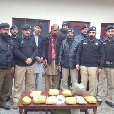 Gilgit Police arrests man with 10kg Charas