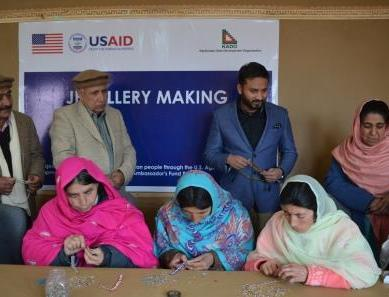 USAID funded project aimed at skills development of 100 special needs people launched in Hunza
