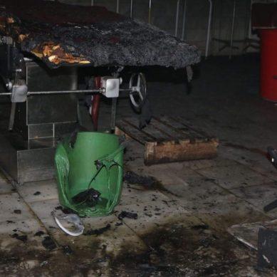 Ward boy injured in Chitral children's hospital fire incident