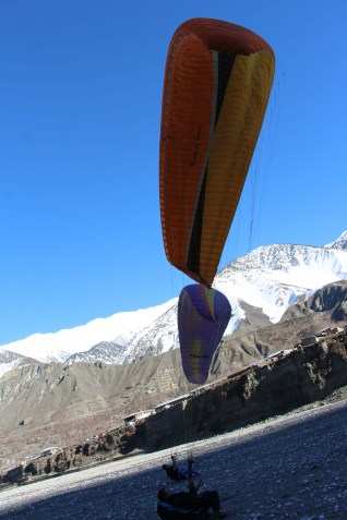 Paragliding in Chitral