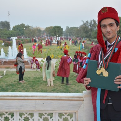 Hamdard University: Engineering student from Ghanche wins three Gold Medals