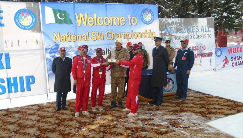Army win Ski Championships held at Naltar
