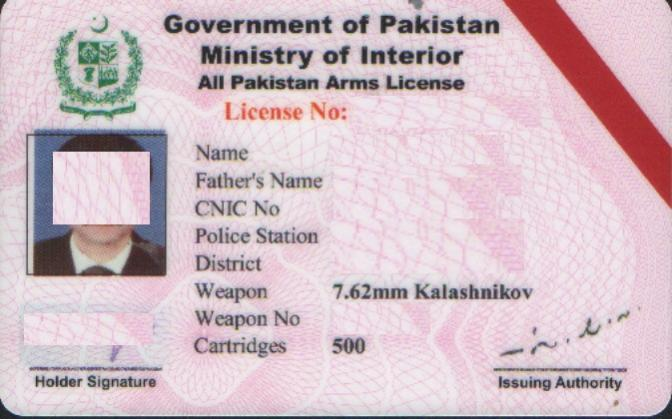Gilgit: Gun owners get one month to renew their licenses