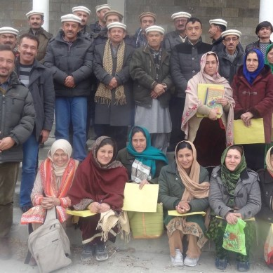Gojal: 24-day-long training of govt teachers concluded