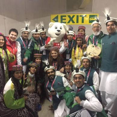 Islamabad: GB civil society plans reception for Olympians representing Pakistan in Austria