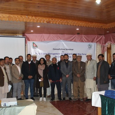 Future of solid waste management in Hunza discussed during seminar