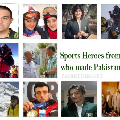 Sports heroes from Gilgit-Baltistan who made Pakistan proud