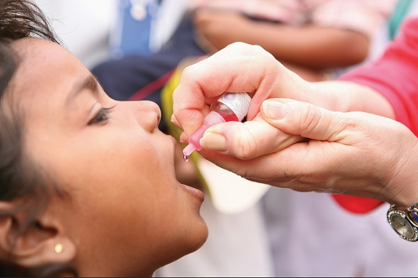 196,000 children up to five years to be administered anti polio vaccine