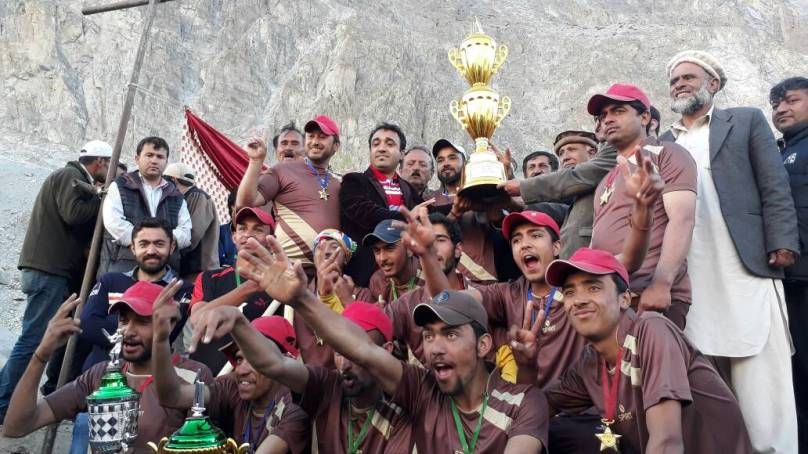 Khudabad Royal Club wins Hunza District T20 cricket tournament played in Passu