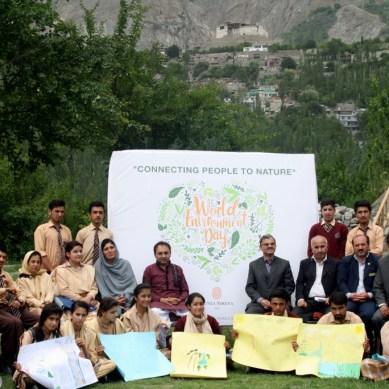 Hunza Serena Inn and Hasegawa Memorial School celebrated World Environment Day