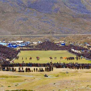 Shandur Festival, the world's biggest freestyle polo event, starts today